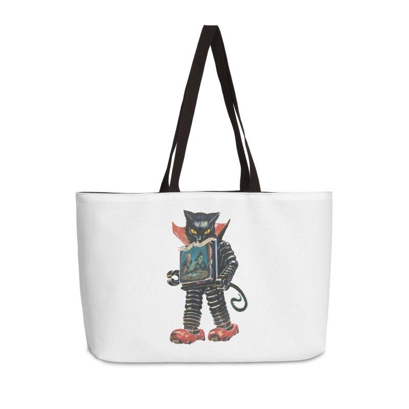 Nightmare Machine Accessories Weekender Bag Bag by Moon Patrol