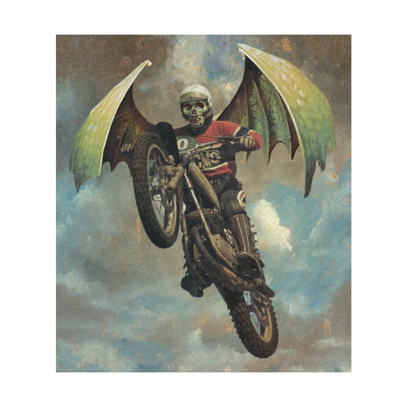 Moto-Reaper Men's T-Shirt by Moon Patrol