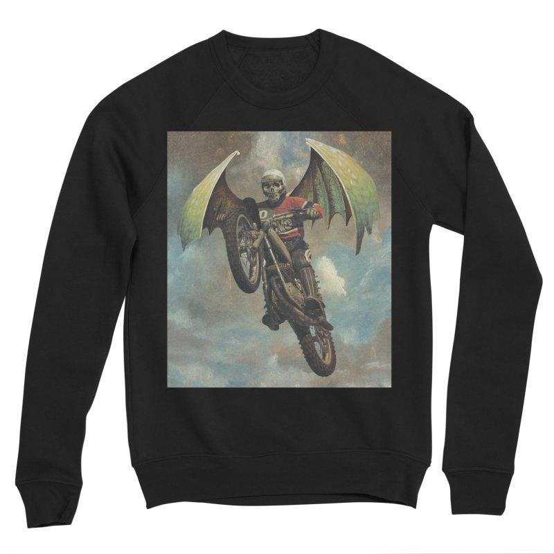 Moto-Reaper Men's Sponge Fleece Sweatshirt by Moon Patrol