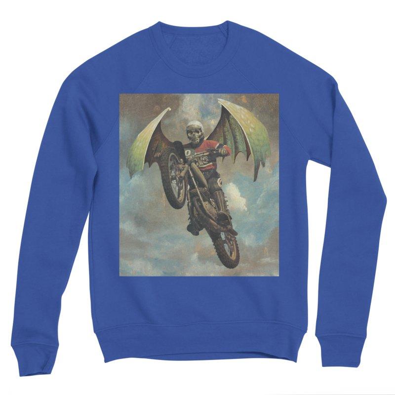Moto-Reaper Women's Sponge Fleece Sweatshirt by Moon Patrol