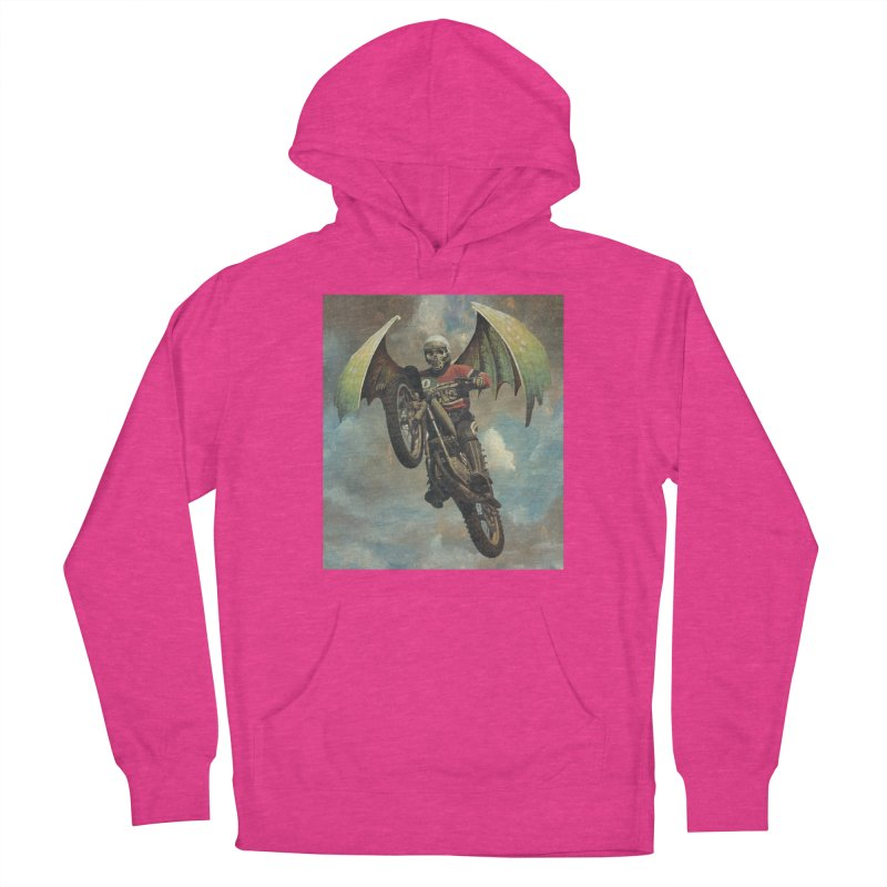 Moto-Reaper Women's French Terry Pullover Hoody by Moon Patrol