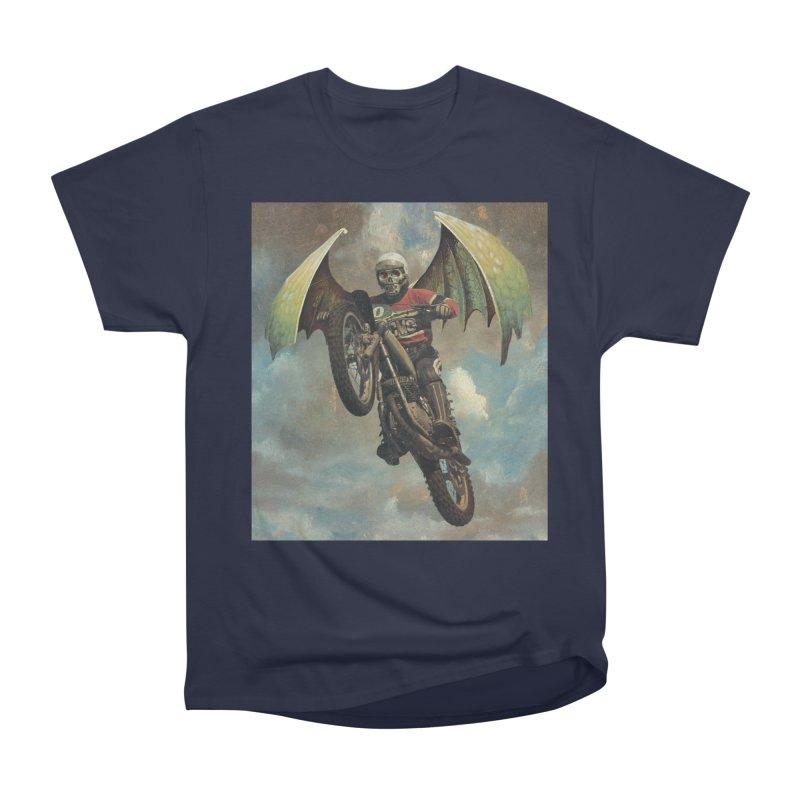 Moto-Reaper Women's Heavyweight Unisex T-Shirt by Moon Patrol