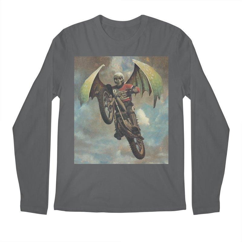 Moto-Reaper Men's Longsleeve T-Shirt by Moon Patrol