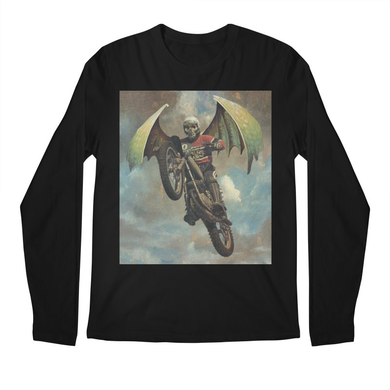 Moto-Reaper Men's Regular Longsleeve T-Shirt by Moon Patrol
