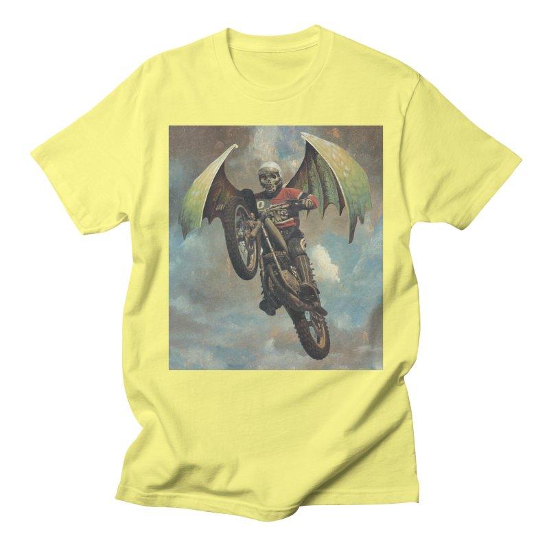 Moto-Reaper Men's Regular T-Shirt by Moon Patrol
