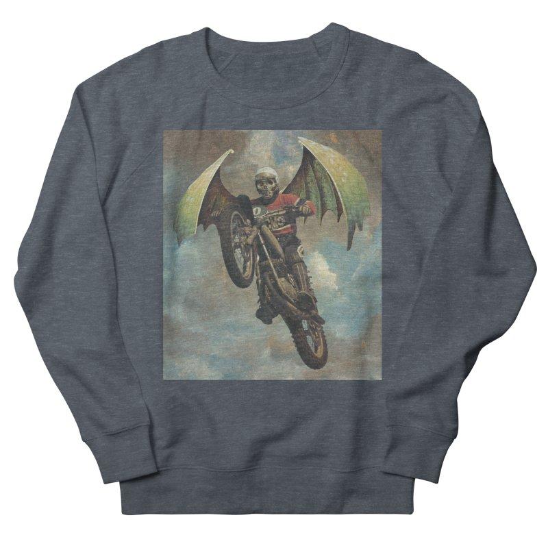 Moto-Reaper Women's French Terry Sweatshirt by Moon Patrol