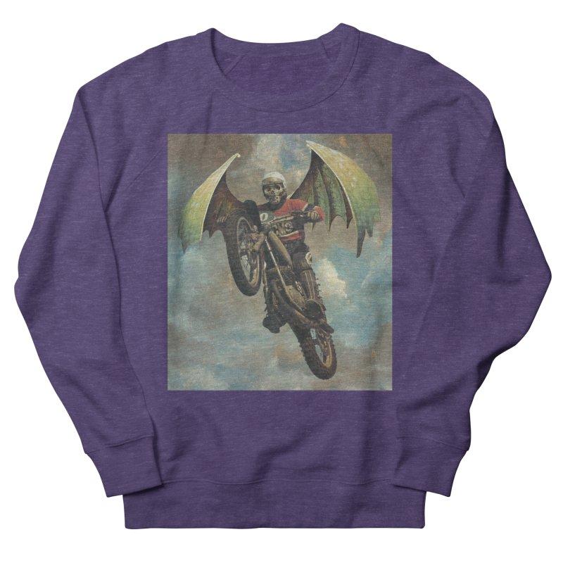 Moto-Reaper Men's French Terry Sweatshirt by Moon Patrol