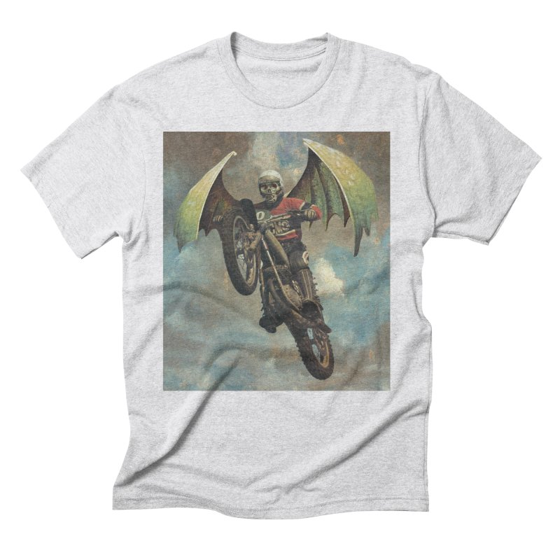 Moto-Reaper Men's Triblend T-Shirt by Moon Patrol