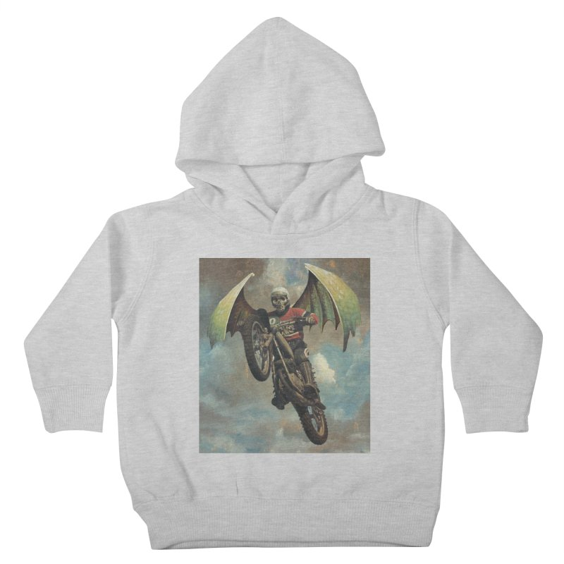 Moto-Reaper Kids Toddler Pullover Hoody by Moon Patrol