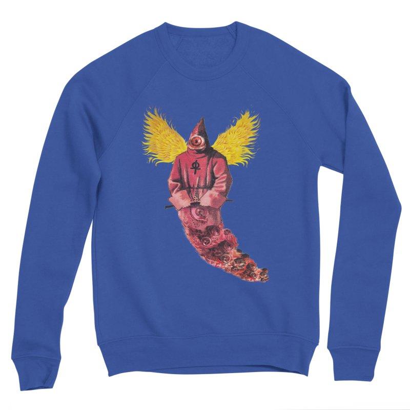 Red Priest Women's Sponge Fleece Sweatshirt by Moon Patrol