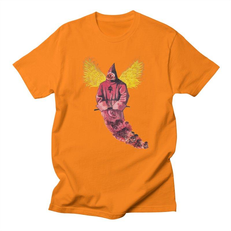 Red Priest Men's Regular T-Shirt by Moon Patrol