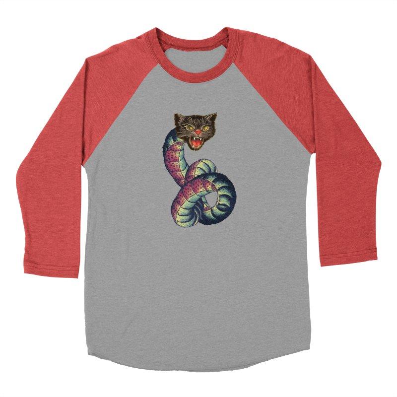 Snake-Cat Men's Longsleeve T-Shirt by Moon Patrol