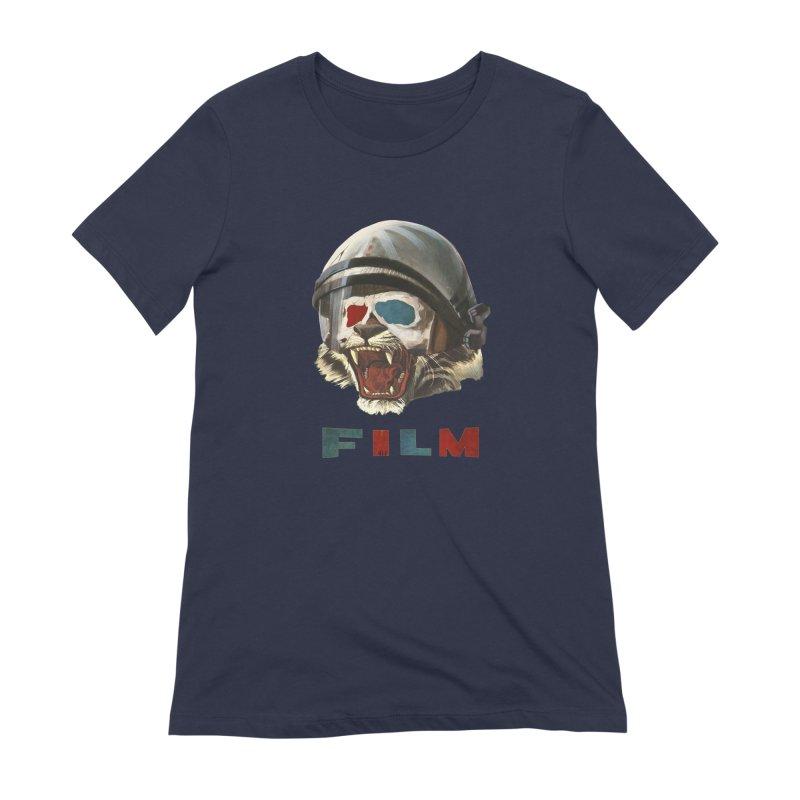 Film Tiger Women's Extra Soft T-Shirt by Moon Patrol