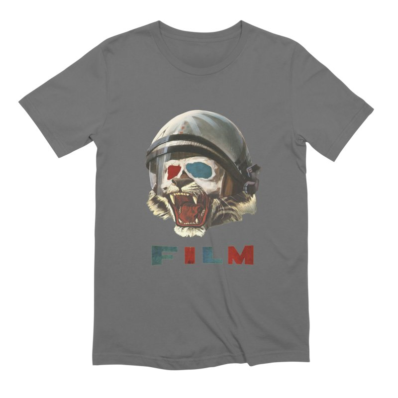 Film Tiger Men's Extra Soft T-Shirt by Moon Patrol
