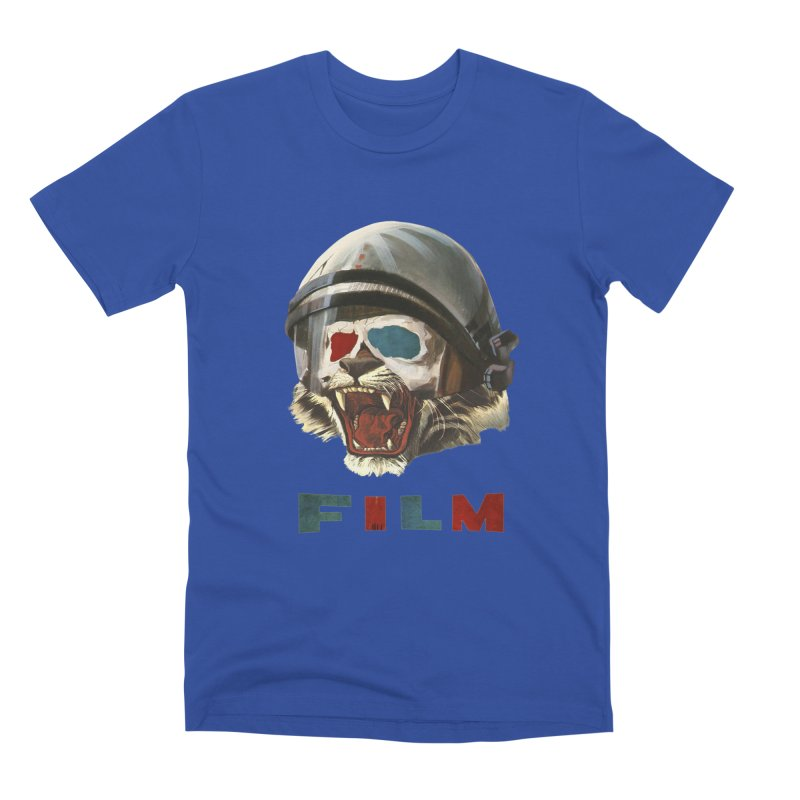 Film Tiger Men's Premium T-Shirt by Moon Patrol