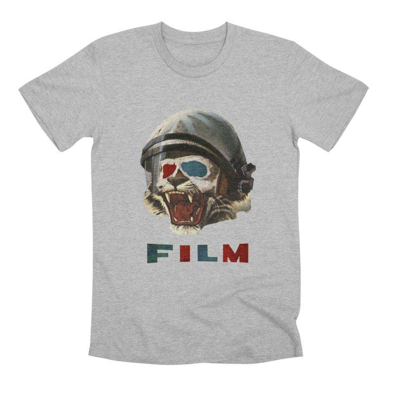 Film Tiger Men's Premium T-Shirt by Moon Patrol