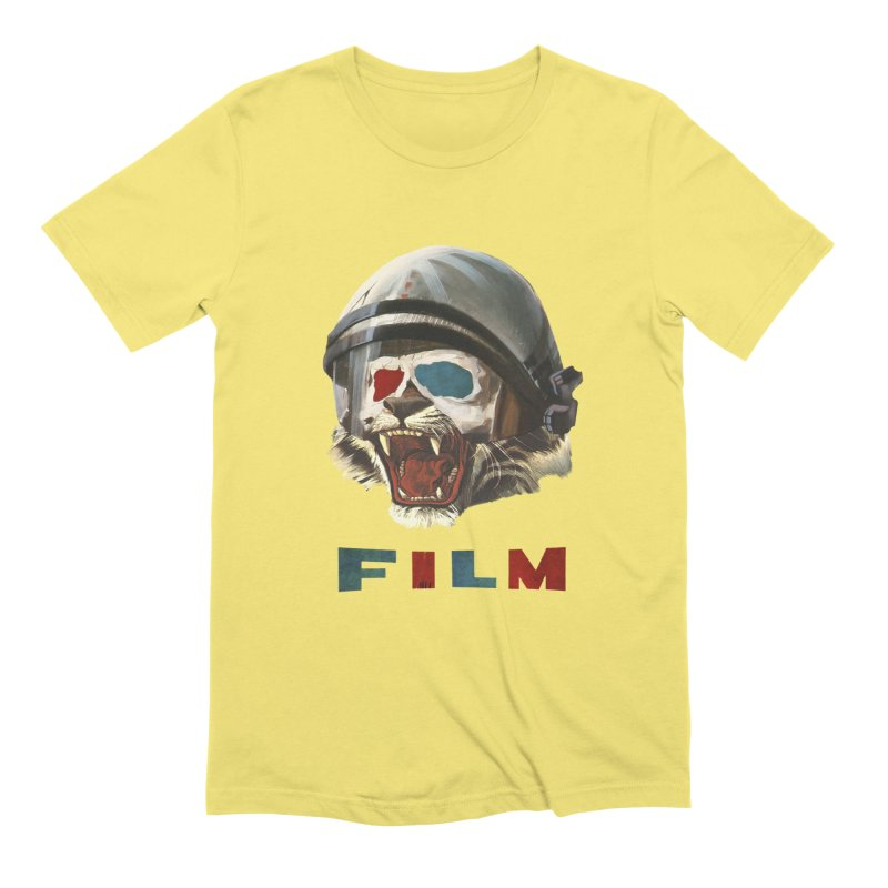 Film Tiger Men's Extra Soft T-Shirt by Moon Patrol