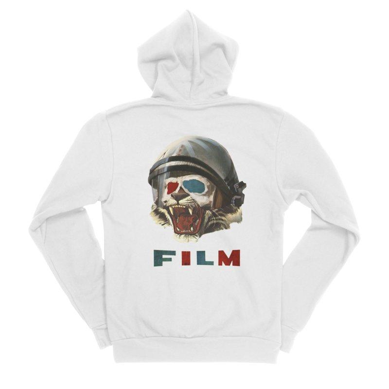 Film Tiger Men's Sponge Fleece Zip-Up Hoody by Moon Patrol