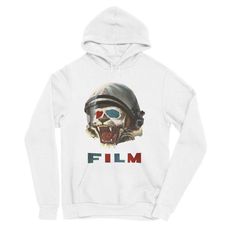 Film Tiger Men's Sponge Fleece Pullover Hoody by Moon Patrol