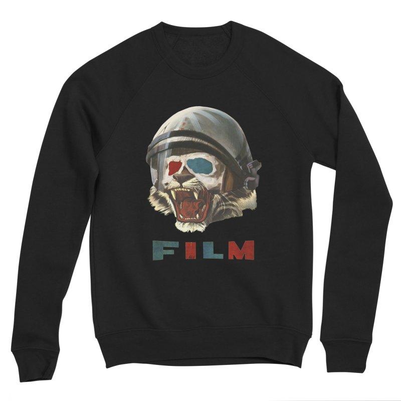 Film Tiger Men's Sponge Fleece Sweatshirt by Moon Patrol