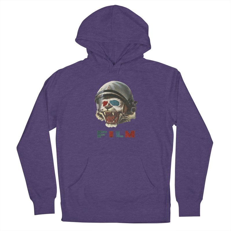 Film Tiger Women's French Terry Pullover Hoody by Moon Patrol