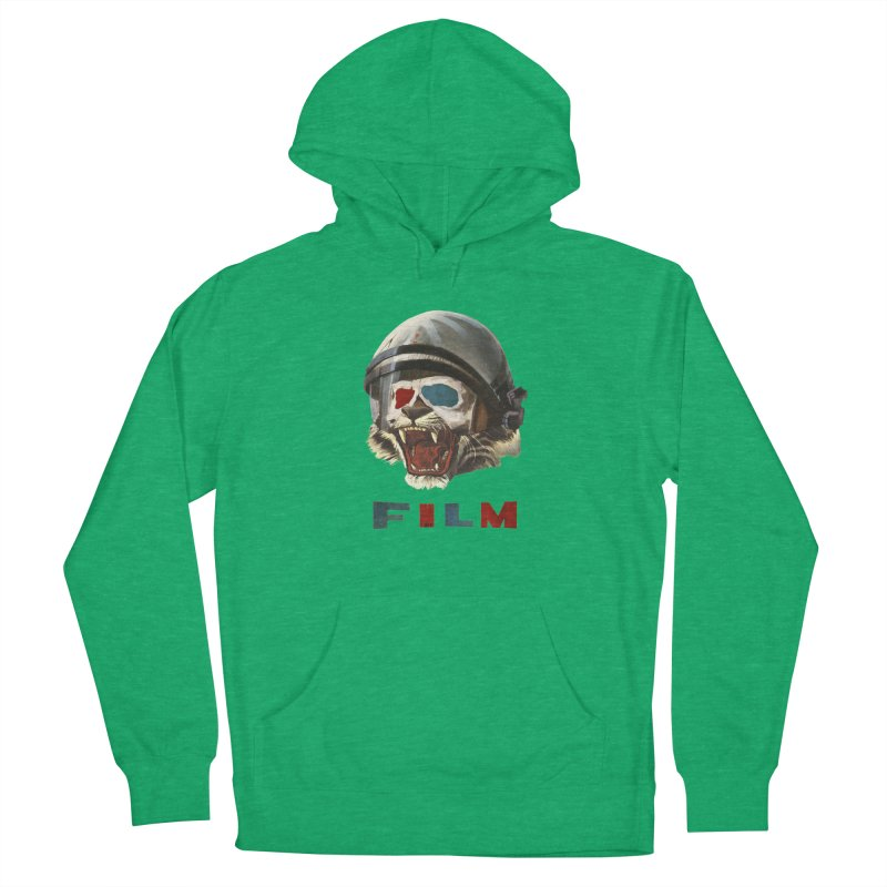 Film Tiger Men's French Terry Pullover Hoody by Moon Patrol