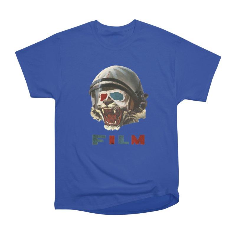 Film Tiger Men's Heavyweight T-Shirt by Moon Patrol