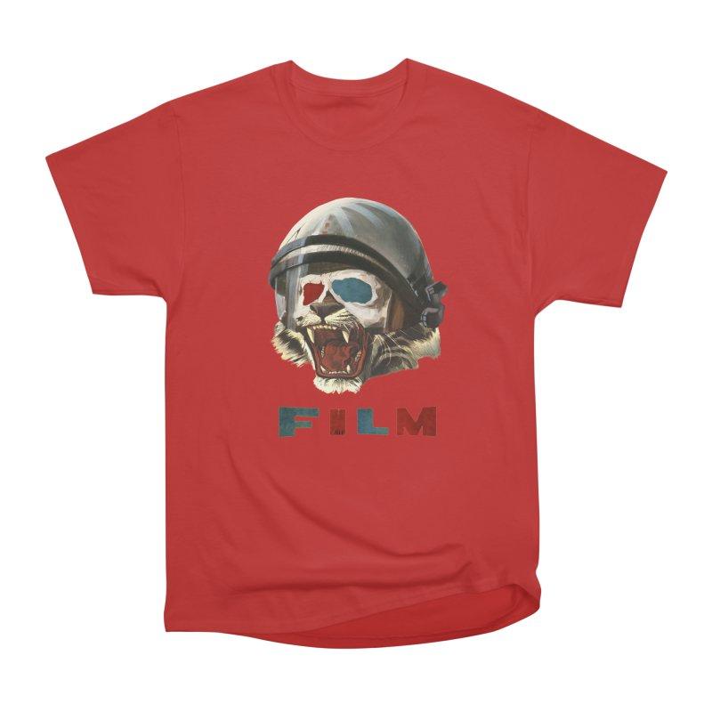 Film Tiger Women's Heavyweight Unisex T-Shirt by Moon Patrol