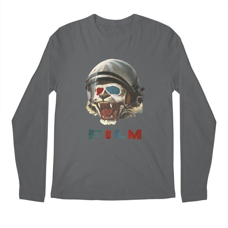 Film Tiger Men's Longsleeve T-Shirt by Moon Patrol
