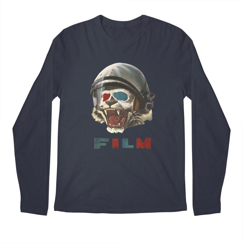 Film Tiger Men's Regular Longsleeve T-Shirt by Moon Patrol