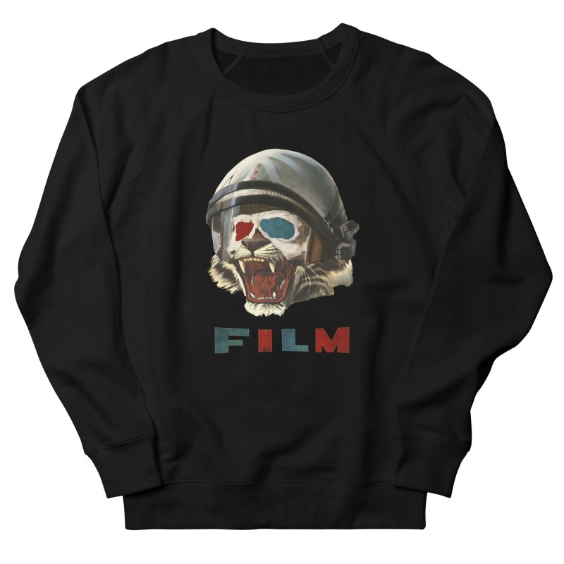 Film Tiger Men's French Terry Sweatshirt by Moon Patrol