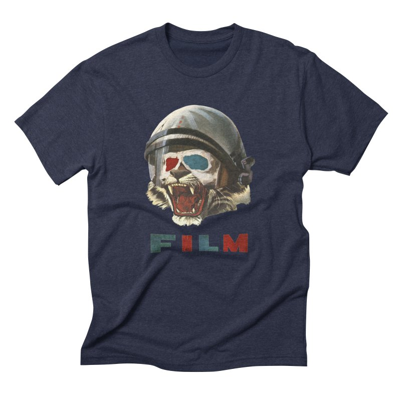 Film Tiger Men's Triblend T-Shirt by Moon Patrol