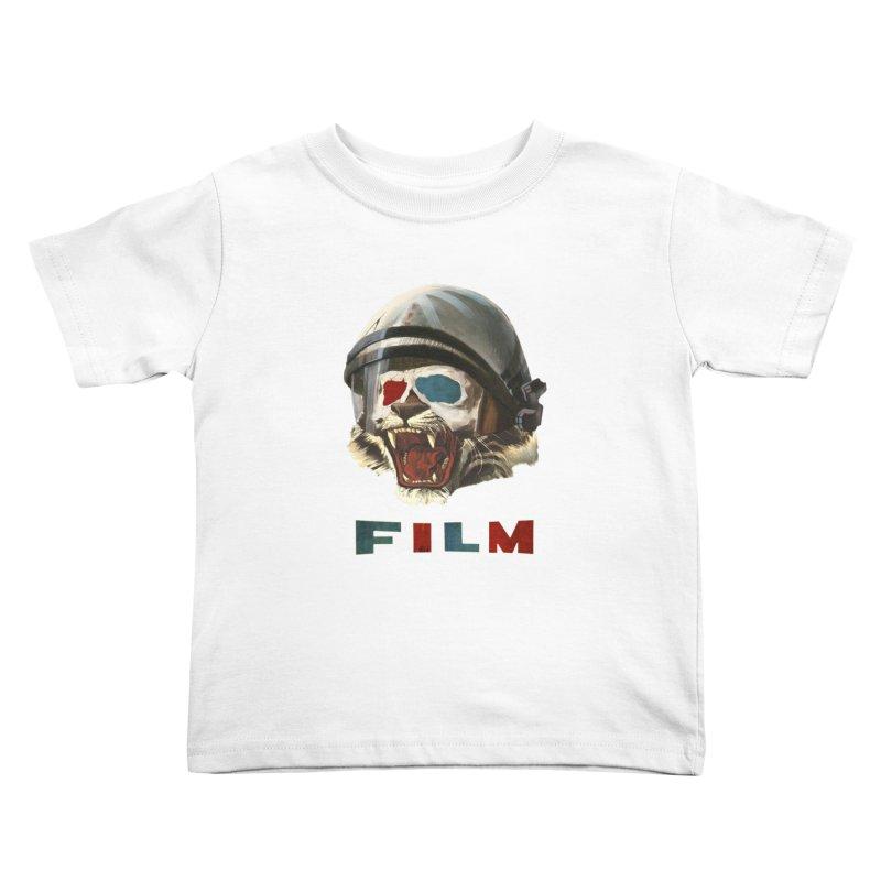 Film Tiger Kids Toddler T-Shirt by Moon Patrol