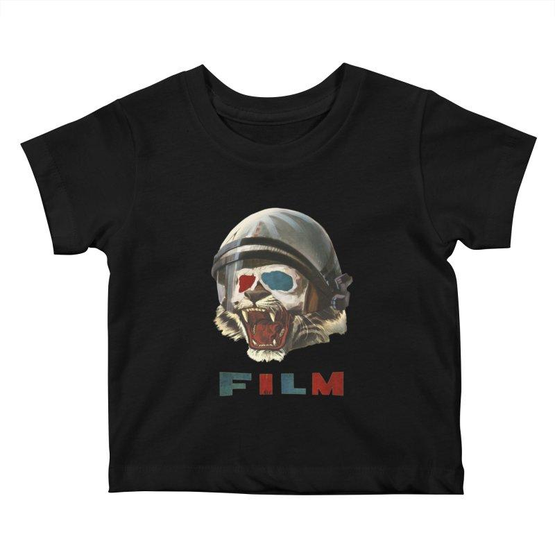 Film Tiger Kids Baby T-Shirt by Moon Patrol