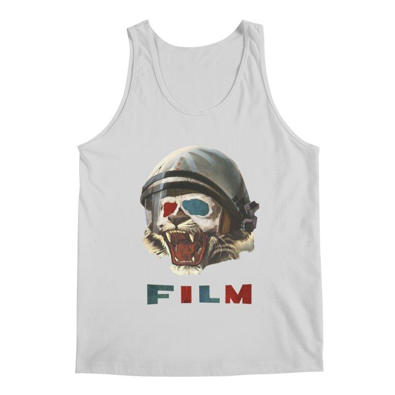 Film Tiger Men's Regular Tank by Moon Patrol