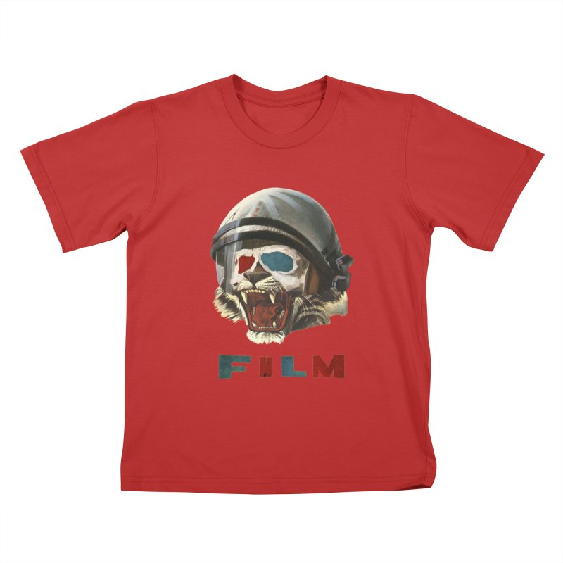 Film Tiger Kids T-Shirt by Moon Patrol