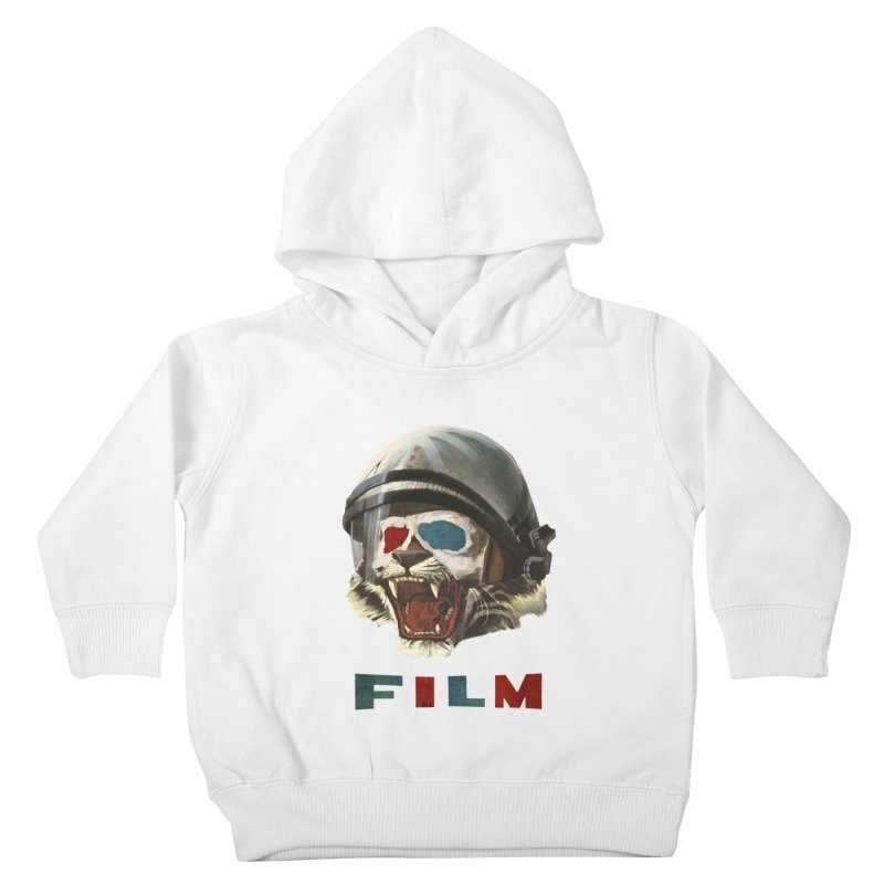 Film Tiger Kids Toddler Pullover Hoody by Moon Patrol