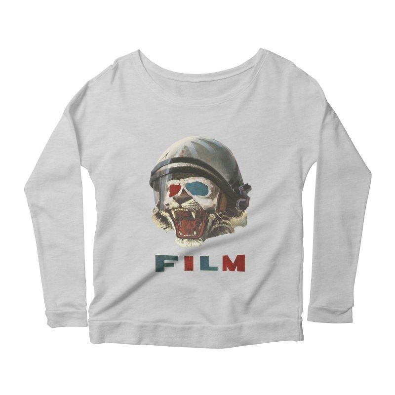 Film Tiger Women's Scoop Neck Longsleeve T-Shirt by Moon Patrol