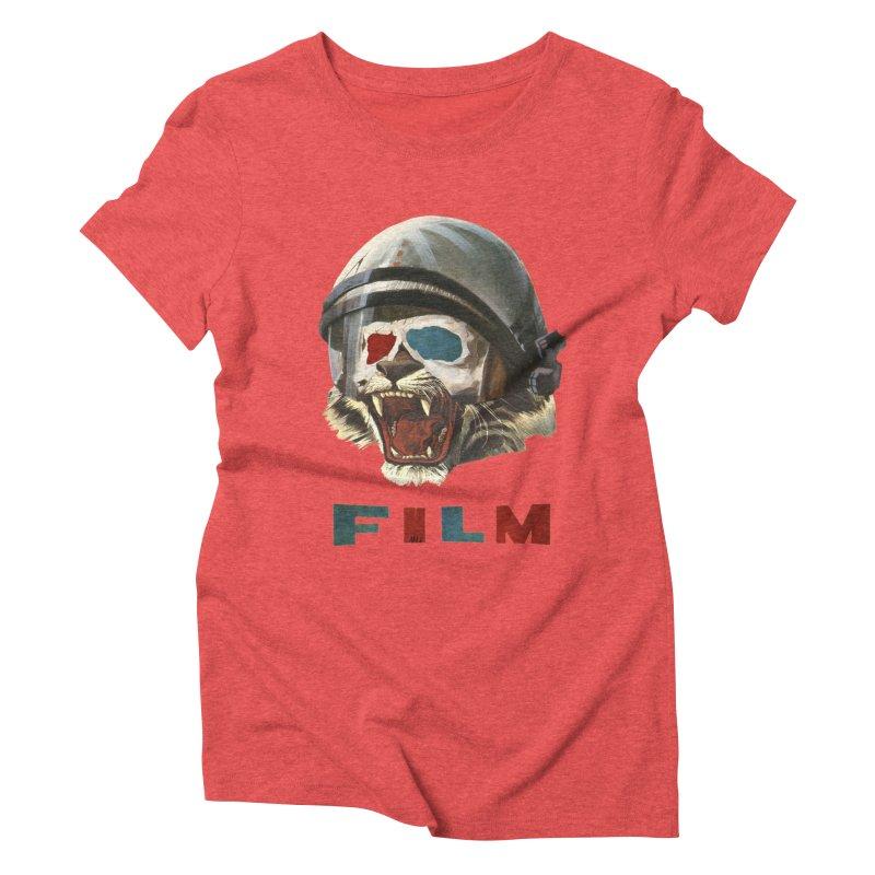 Film Tiger Women's Triblend T-Shirt by Moon Patrol