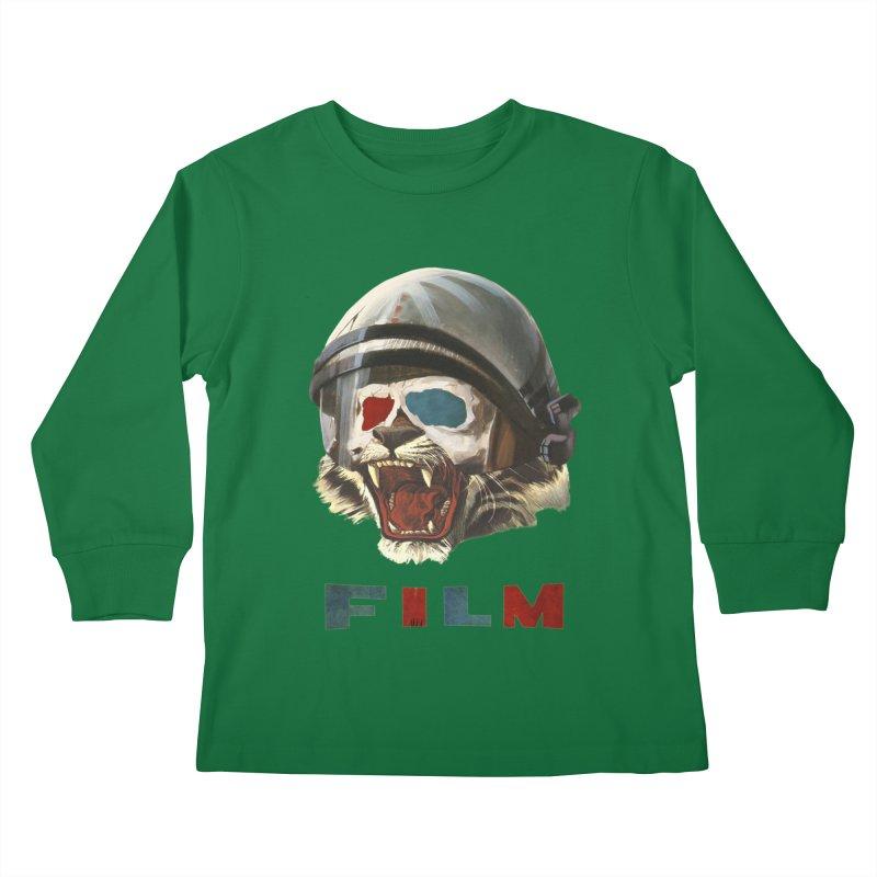 Film Tiger Kids Longsleeve T-Shirt by Moon Patrol