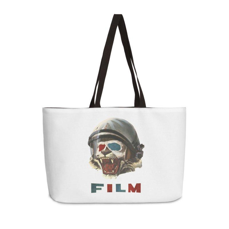 Film Tiger Accessories Weekender Bag Bag by Moon Patrol