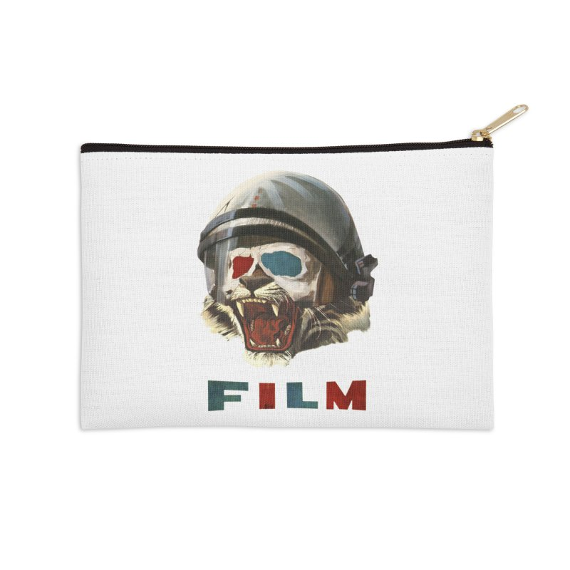 Film Tiger Accessories Zip Pouch by Moon Patrol