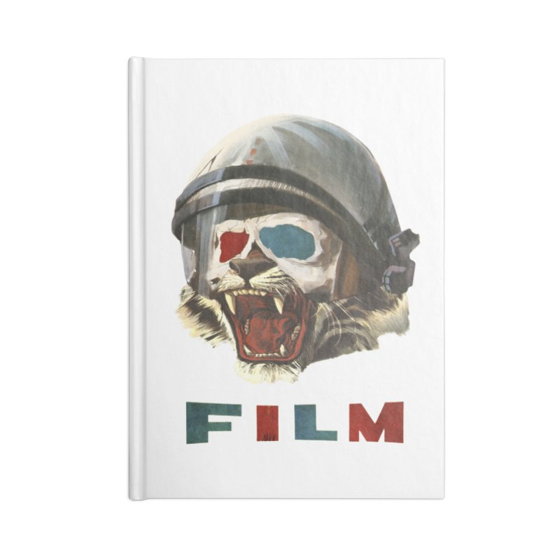 Film Tiger Accessories Lined Journal Notebook by Moon Patrol