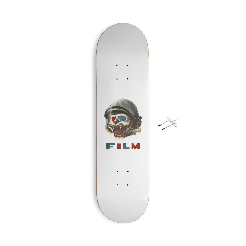 Film Tiger Accessories With Hanging Hardware Skateboard by Moon Patrol