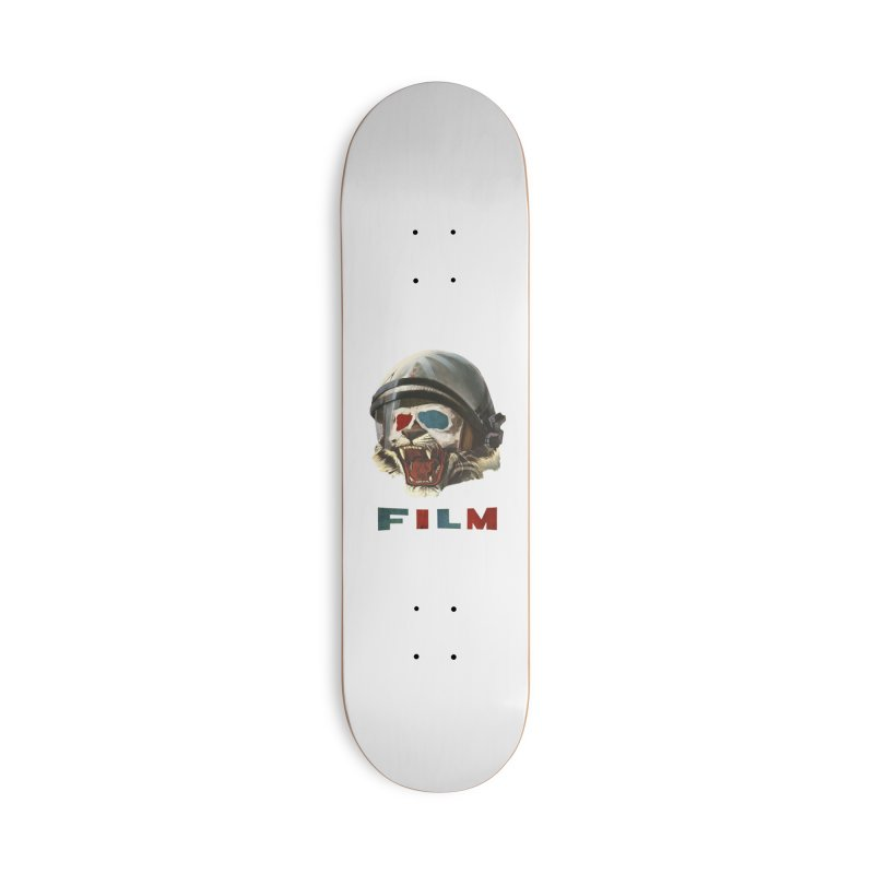 Film Tiger Accessories Deck Only Skateboard by Moon Patrol
