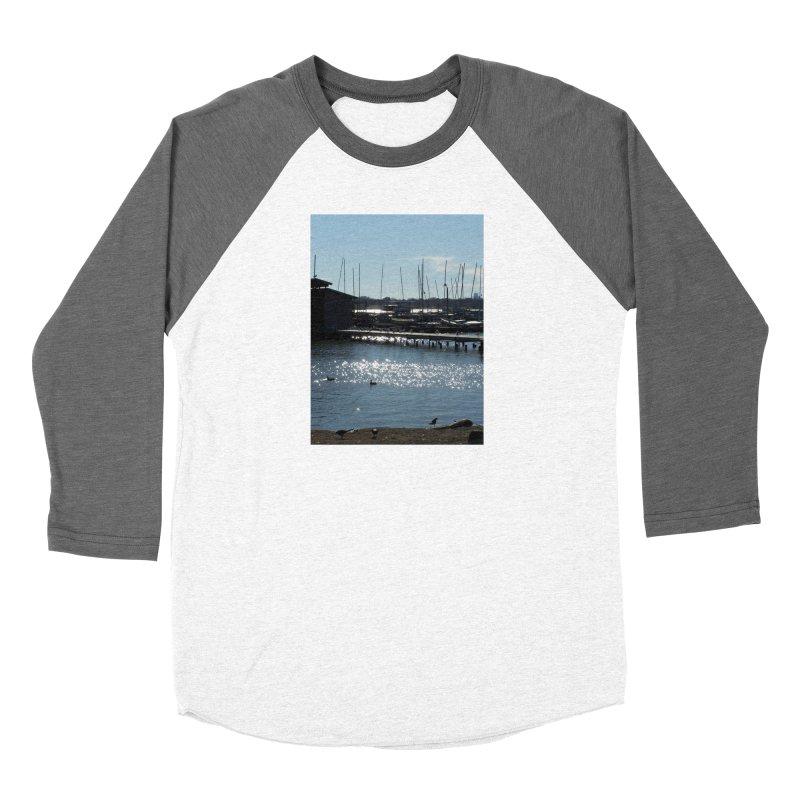 Birds and Boats Women's Longsleeve T-Shirt by Moon Pie Studio's Artist Shop