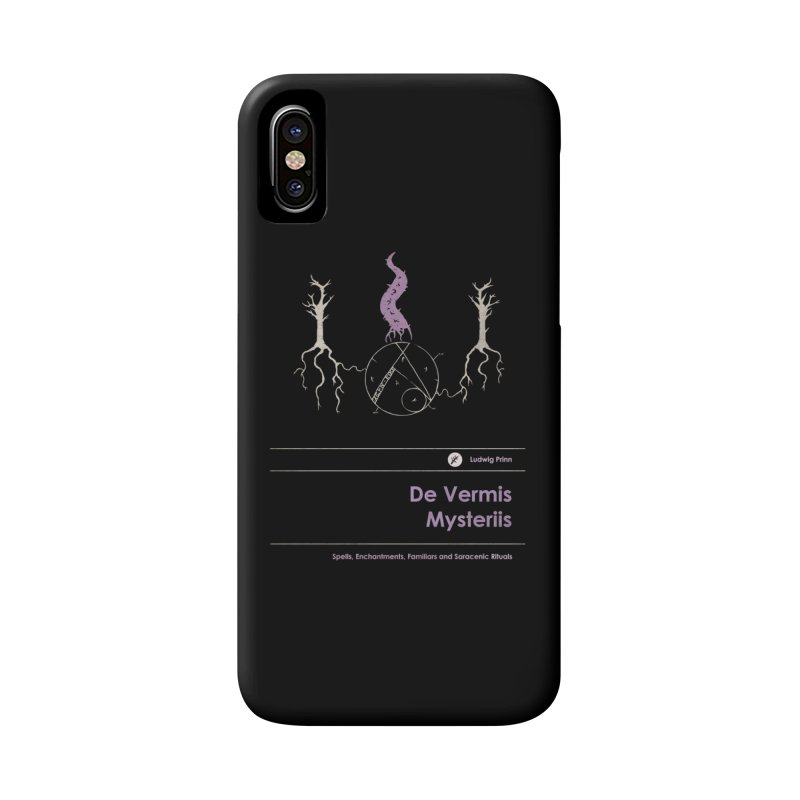 De Vermis Mysteriis Accessories Phone Case by Moonskinned