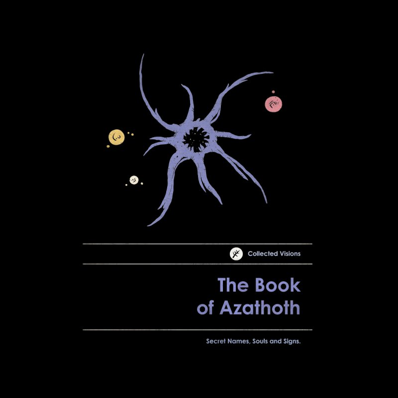 The Book of Azathoth Home Fine Art Print by Moonskinned