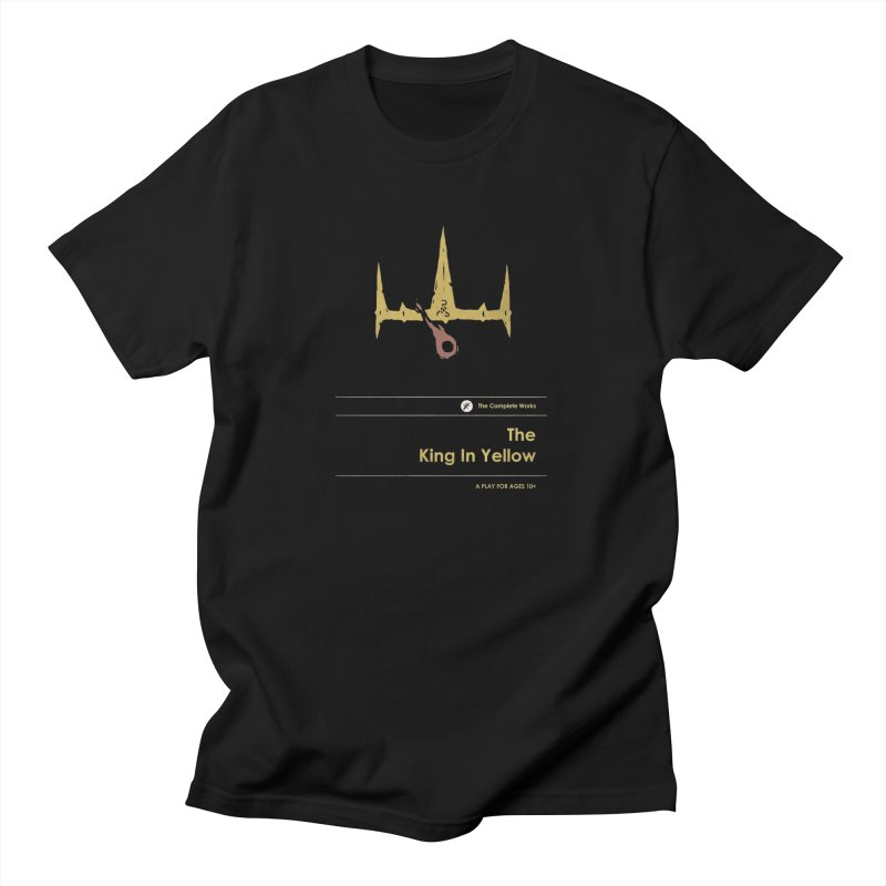 The King in Yellow Men's T-Shirt by Moonskinned