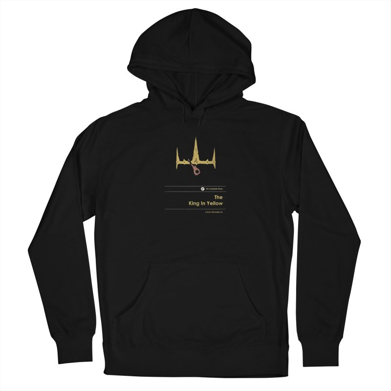 The King in Yellow Women's Pullover Hoody by Moonskinned